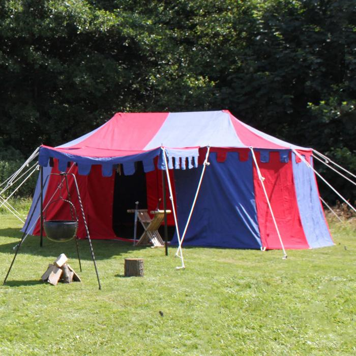 sale of knights tent burgund 3x5 m the time seller
