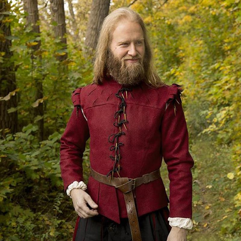 Doublet Aramis, dark red The Time Seller