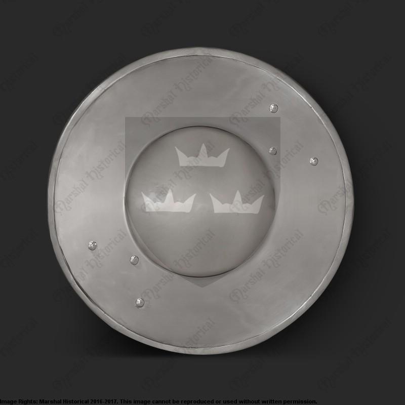 Broquel de acero Dordrecht  - 30cm The Time Seller