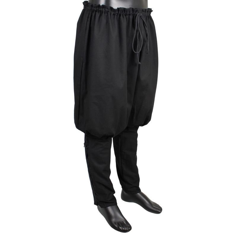Pantalones Vikingos, Negro The Time Seller