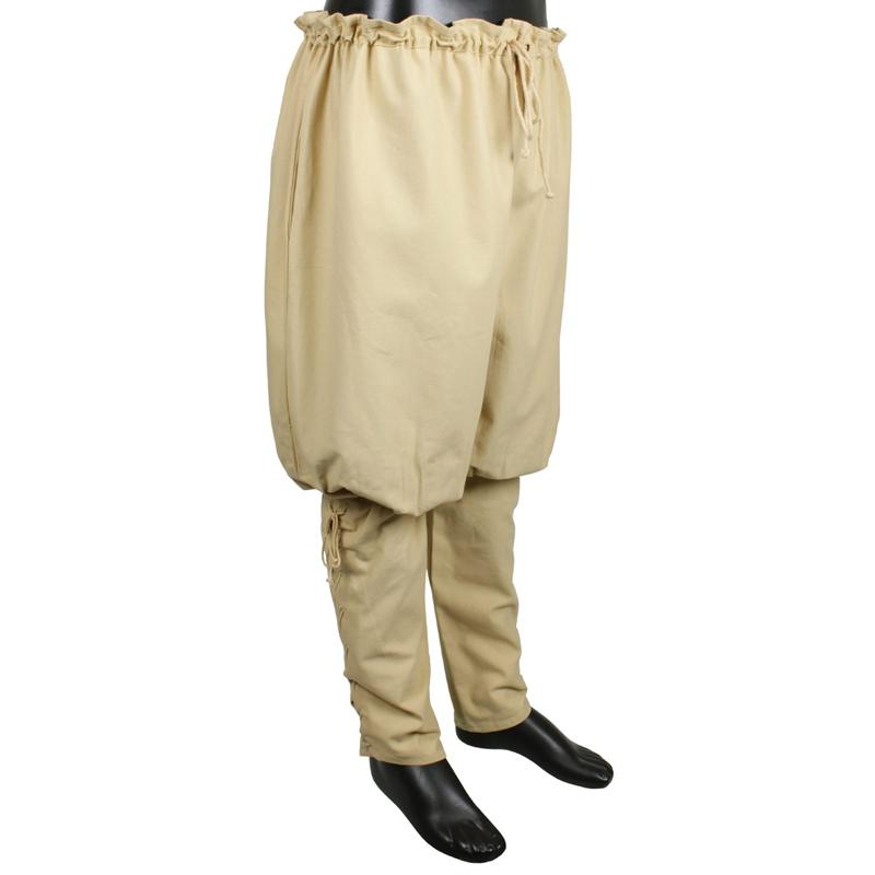 Pantalones Vikingos, Beige The Time Seller