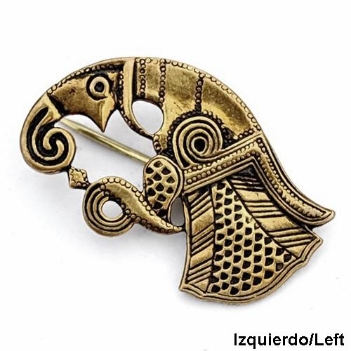 Broche cuervo de Odin - Bronce The Time Seller