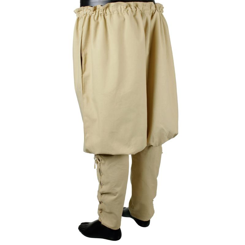 Pantalones Vikingos, Beige The Time Seller
