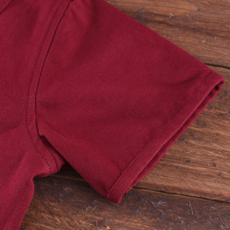 Sale of Short-sleeved Cotehardie 13th-15th C  - Wine red The