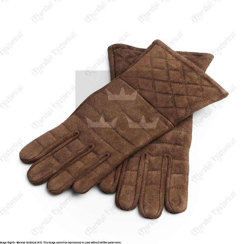 Guantes de serraje para guantelete The Time Seller