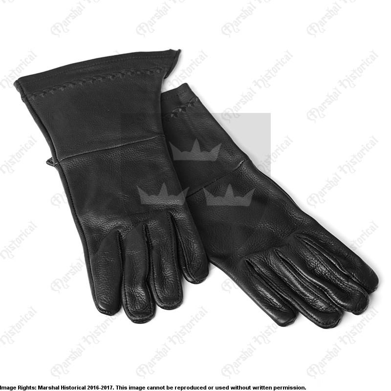 Guantes bordados - Negro The Time Seller