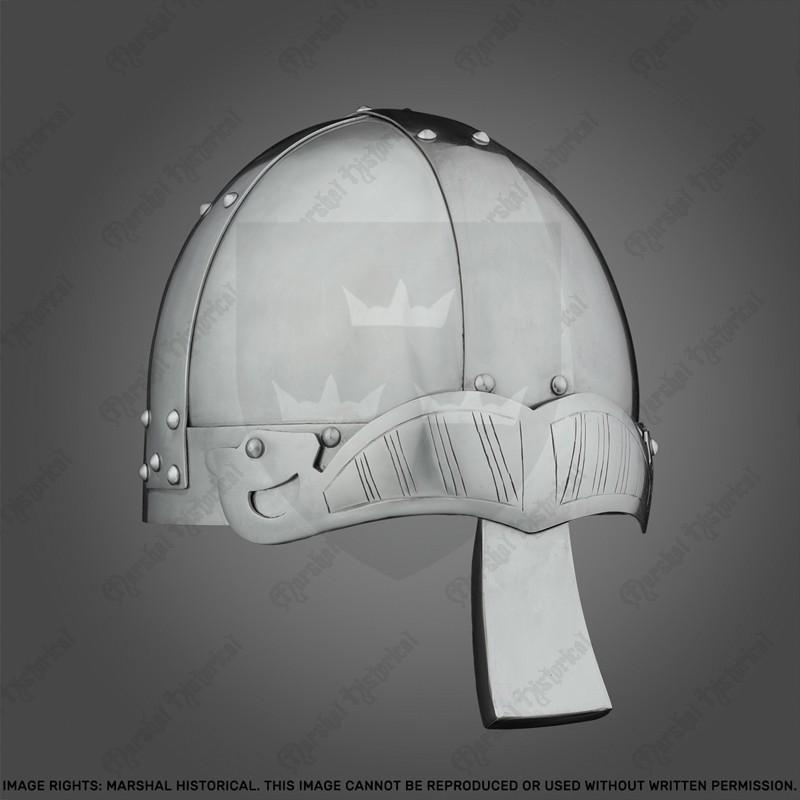 Capacete Spangenhelm Vikingo con nasal, 2mm The Time Seller