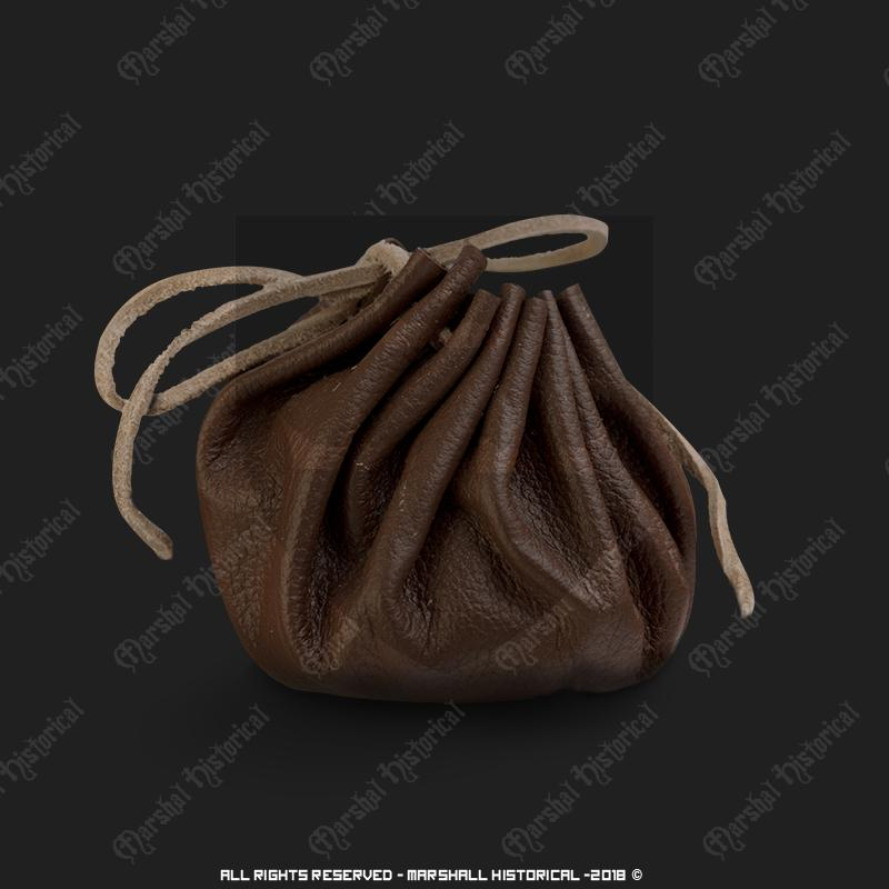 LeatherBag for money The Time Seller