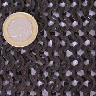 Brafoneras, anilla plana con remache plano (par) The Time Seller