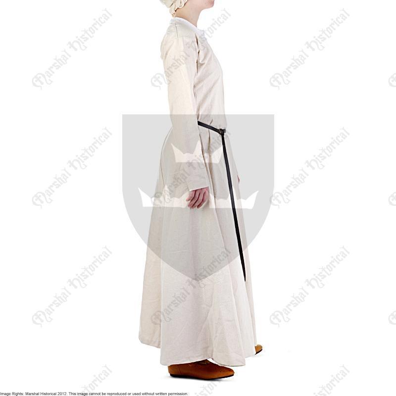 Vestido Medieval de niña S. XI-XII - Natural The Time Seller
