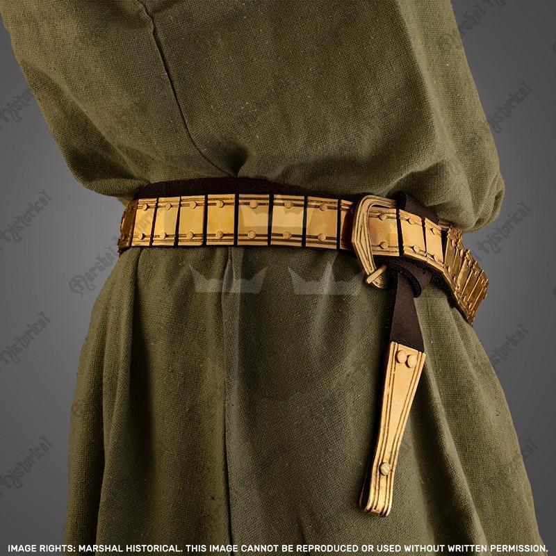 Cinturón Vikingo de placas - Latón The Time Seller