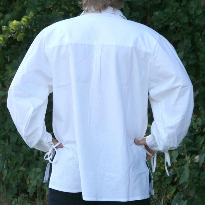 Camisa de la baja edad media, blanco The Time Seller