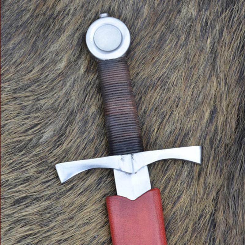 Daga medieval con vaina - Redondeada The Time Seller