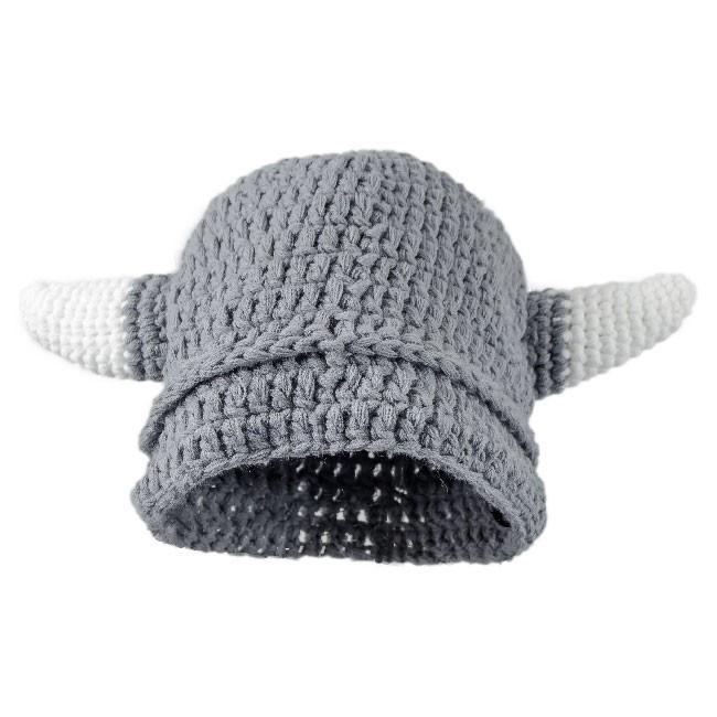 Gorro Vikingo de Ganchillo con Barba - Niño The Time Seller