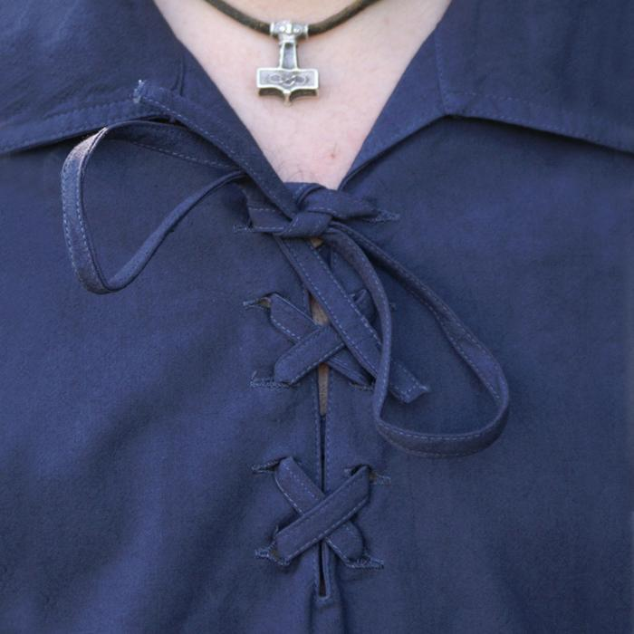 Camisa de la baja edad media, azul The Time Seller