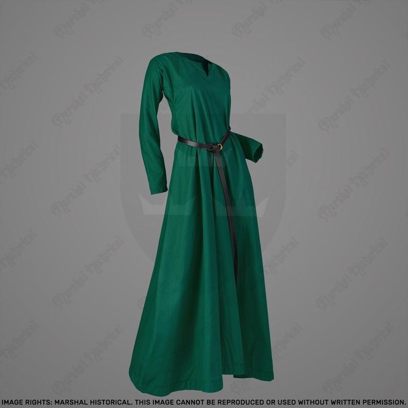 Vestido medieval ligero de mujer S. XI-XV - Color The Time Seller