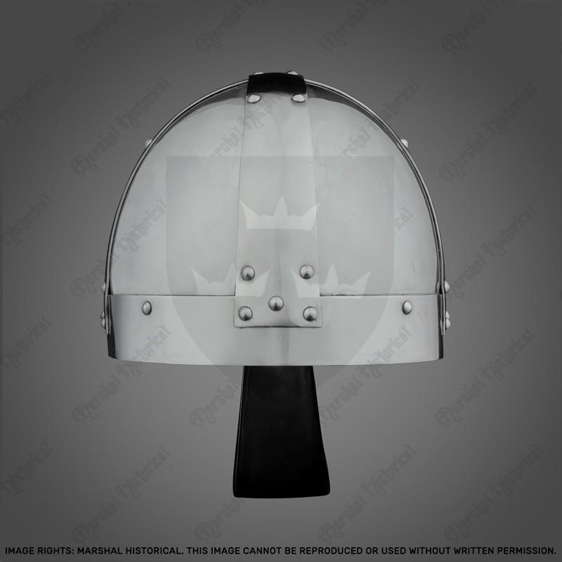 Capacete Spangenhelm Vikingo con nasal, 2mm The Time Seller